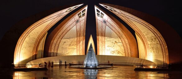 Pakistan Monument - most beautiful place in Islamabad